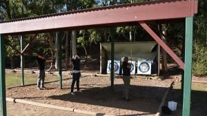 Archery Shelter